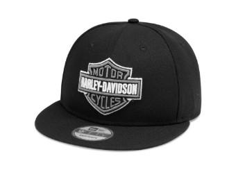 Harley-Davidson Men's -TONAL LOGO 9FIFTY- Cap 99408-20VM Men's Trucker Black