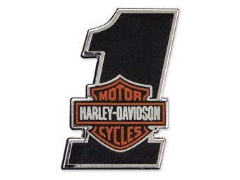 "Harley-Davidson Pin ""#1 Bar&Shield"" Anstecker P035642 Number One"