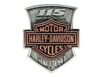 "Harley-Davidson Pin Anstecker ""115 YEARS SINCE 1903"" P260232 Bar & Shield"