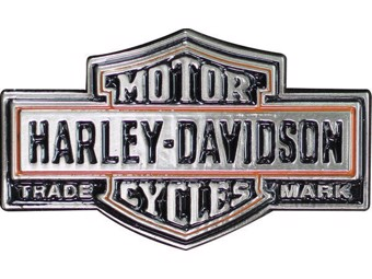 "Harley-Davidson Pin ""CLASSIC BAR+SHIELD"" Anstecker, Trademark H-D P313643"