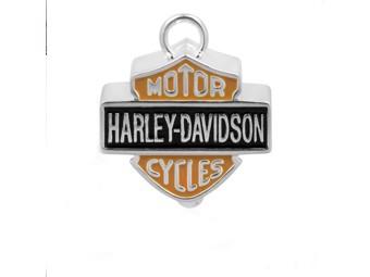 Harley-Davidson RIDE BELL Big B+S Enamel Glücksglöckchen HRB023