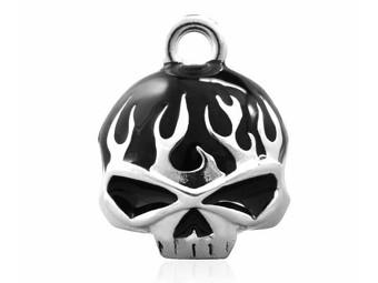 """Harley-Davidson RIDE BELL """"Black Skull"""" Glücksglöckchen HRB039"""
