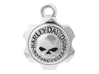 """Harley-Davidson """"RIDE BELL Silver Axel Skull"""" Glücksglöckchen HRB100"""