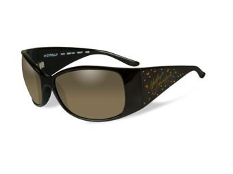 Harley-Davidson Sunglasses Biker Glasses -POLLY 2- gloss black HRPOL24