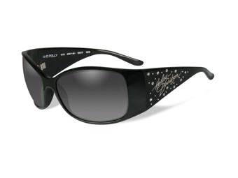 Harley-Davidson Sunglasses Biker Glasses -POLLY- gloss black HRPOL20
