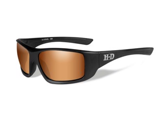 "Harley-Davidson Sunglasses Wiley X ""DUEL"" Motorcycle Glasses HADUE06"