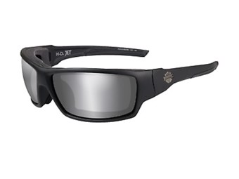"Harley-Davidson Sunglasses Wiley X ""JET PPZ"" Grey Motorcycle Glasses HDJET07"