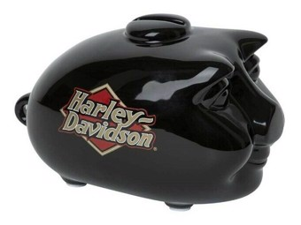 "Piggy Bank ""MINI HOG BANK"" HDX-99103 Black Small"