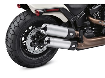 STREET CANNON SE Auspuff Kit satin-chrom FAT BOB 64900642