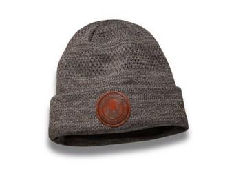 Winter Hat Grey Knit Hat 97806-19VM Fleece