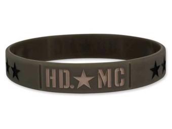 Harley-Davidson Wristbands Resolute Olive WB34353 Armband