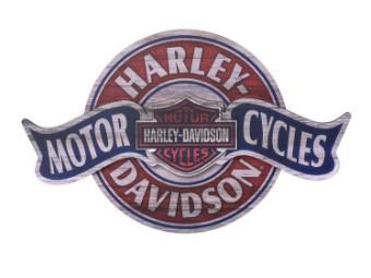 Harley-Davidson Motorcycles Holzschild Banner HDL-15324 Pub Sign