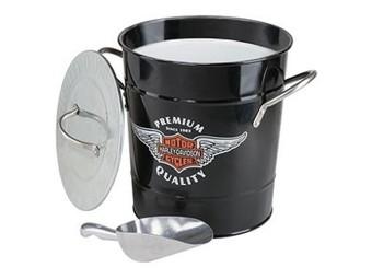 Harley-Davidson Ice Cube Bucket HDL-18582 Bucket Bar & Shield Logo