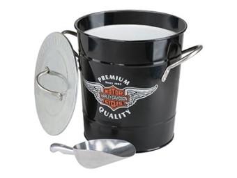 Harley-Davidson Eiswürfelbehälter HDL-18582 Eimer Bar & Shield Logo
