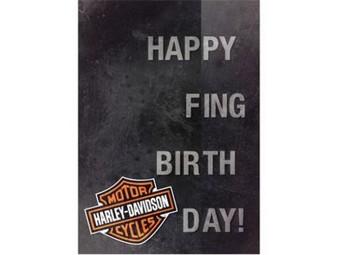 Birthday Card Happy F-ing HDL-20064 mit Spruch