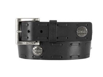 "Herren Gürtel ""Maverick B&S Genuine"" Leather Belt"