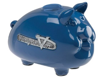 Sparschwein HDX-99210 Blau Emblem Hog Bank