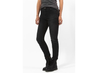 Betty High Black Used XTM Motorradjeans Stretch Damen  JDD4008