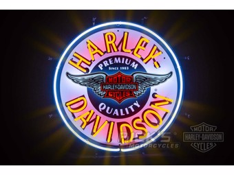 "Harley-Davidson ""Winged Bar & Shield Neon Sign"" 220 V HDL-15410"