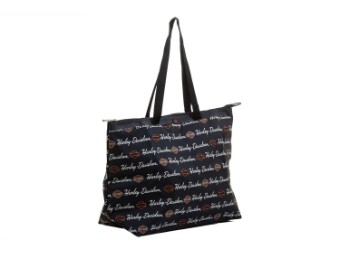 Shopper -Signature- A99914-SI Black Shopping Bag