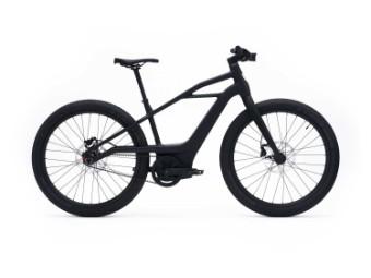 "E-Bike ""MOSH"" 25km/h in Black/Black oder Black/Blue Rahmengrößen M-XL"