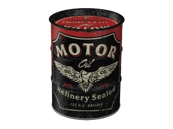 Nostalgic Money Box NA31505 Motor Oil Money Box