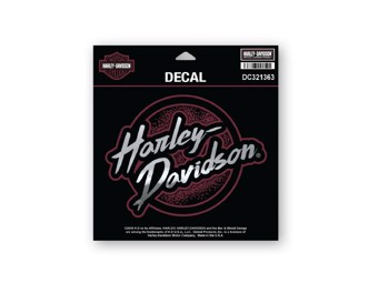 Orig. Harley-Davidson Sticker, Decal -EDGY- Lettering,  Logo *DC321363*