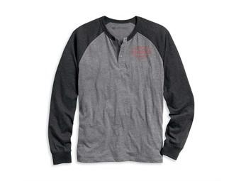 Orig. Harley-Davidson Men's Longarm Shirt HENLEY WRENCHES 96134-20VM