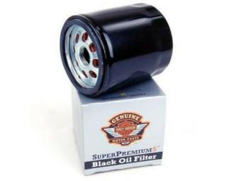 Orig. Harley-Davidson Ölfilter 63805-80A schwarz für Evolution und Sportster
