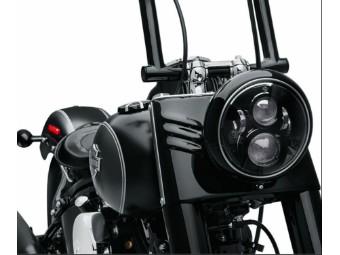 Original Harley-Davidson 7 Zoll Projector LED Headlight Black Gloss 67700266