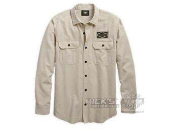 Original Harley-Davidson Men's Shirt long sleeve 96639-19VM