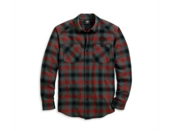 Original Harley-Davidson Men's long sleeve Leisure shirt  HERRINGBONE 96122-20VM