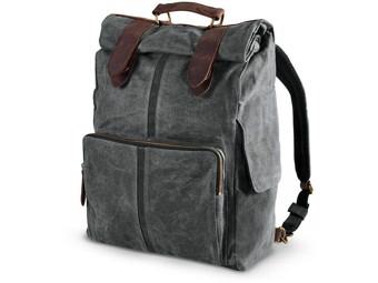 Original Harley-Davidson Waxed Canvas Sissy Bar Backpack Bag *93300117*