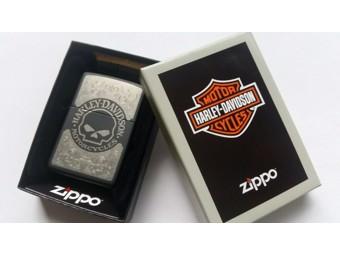 Harley-Davidson by Zippo Feuerzeug ZIPPO 60002820 Willie G. Skull