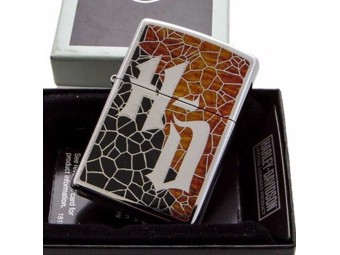 Harley-Davidson by Zippo Lighter 2018 Collection H-D Badge ZIPPO60002188
