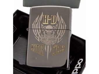 Harley-Davidson by Zippo Lighter 2018 Collection Millitary Sk ZIPPO60002186