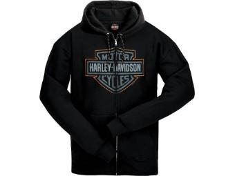 Ricks Men's Hoodie -Name Line- Black R003725