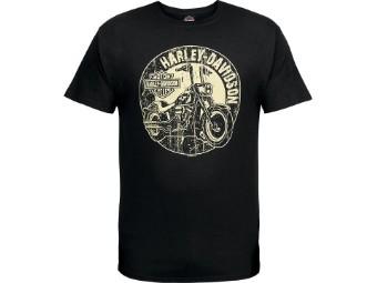 """Ricks Herren T-Shirt """"Hard Shades"""" Schwarz  R003704"""