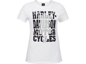 """Ricks Damen T-Shirt """"Internal"""" Weiß  R003735"""