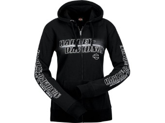 "Harley-Davidson ""Line Name Lds. L"" Dealer Women's Zipper"