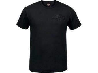 "Harley-Davidson Herren Dealer Shirt ""Welded Logo"" R003808 Schwarz Bar & Shield"