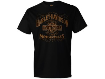 "Harley-Davidson ""Stressed Label"" Dealer Men's Shirts"