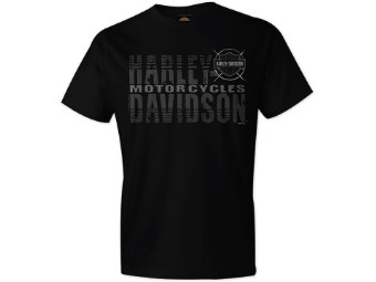 "Harley-Davidson ""Name Fade"" Dealer Men's Shirt"