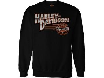 """Harley-Davidson """"Round Lines"""" Dealer Men's Pullover"""