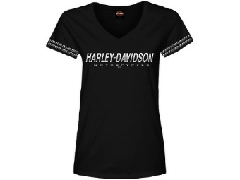 "Harley-Davidson ""Borderline"" Dealer Women's Shirt"