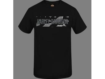 """Harley-Davidson Herren Dealer Shirt """"Flannigan II"""" R004016 Schwarz Schriftzug"""