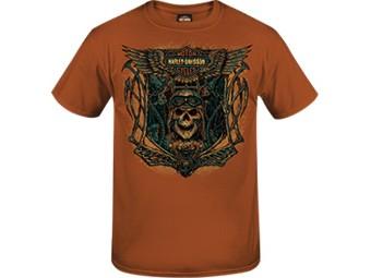Harley-Davidson -Free Flight- Men's Dealer T-Shirt R003531 olive Cotton Tee