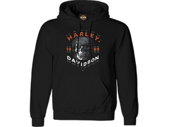 """Harley-Davidson """"Shutter Skull"""" Herren Dealer Longsleeve R004185 Black Baumwolle"""