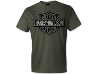 "Harley-Davidson ""B&S Greys"" Dealer Men's Shirt"