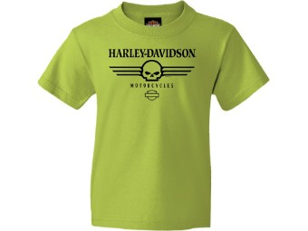 "Harley-Davidson ""Willie G Bars"" Dealer Kids Shirt"